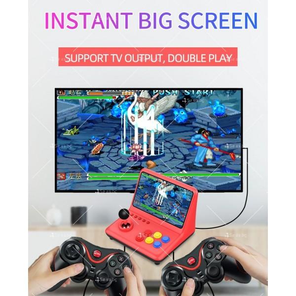 Ретро игра с 12-инчов цветен екран и 3D джойстик PSP4 9