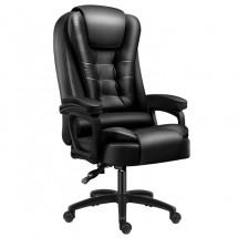 Едноточков масажен стол, кожено покритие OFFICE MASSAGE CHAIR 007