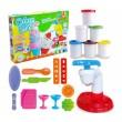 Детска машина за правене на сладолед + 6 броя нетоксична глина 2