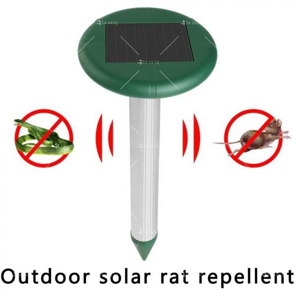 Електронен соларен уред срещу вредители в почвата TV1 4
