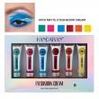 Комплект от 6 броя кремообразни сенки за очи Handaiyan HZS330 7