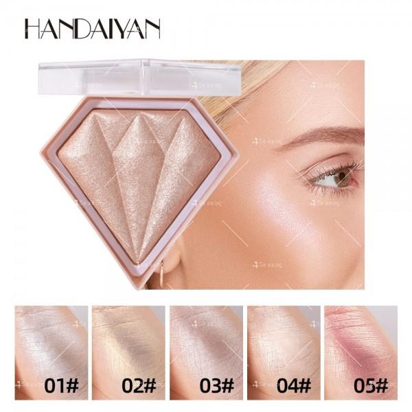 Прахообразен деликатен хайлайтър Handaiyan HZS332 6