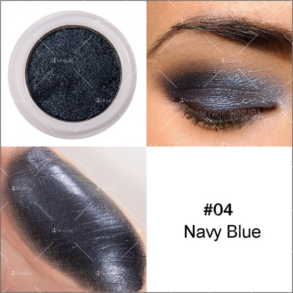 Кремообразни сенки за очи с металически блясък Han Daiyan HZS336 4