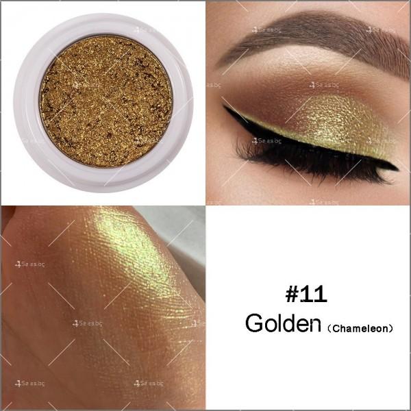 Кремообразни сенки за очи с металически блясък Han Daiyan HZS336 11