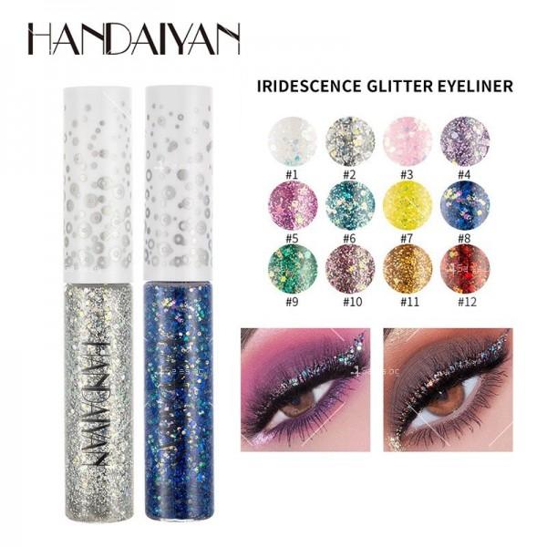 Блестяща брокатена очна линия с четка Han Daiyan HZS337 13