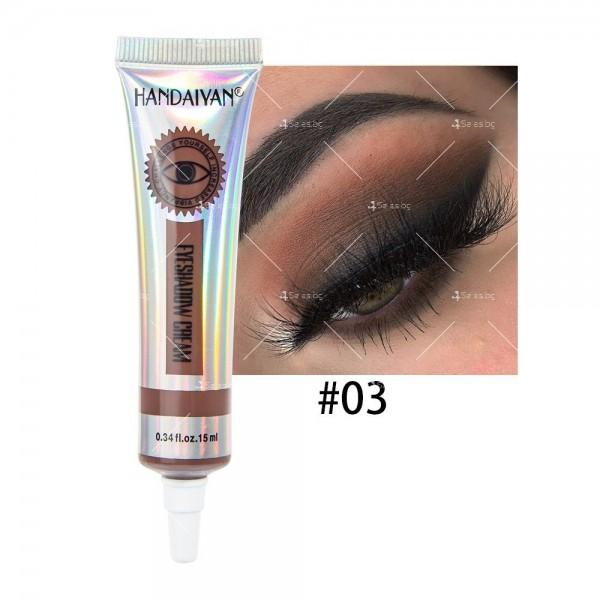 Цветни кремообразни сенки за очи Handaiyan HZS338 3