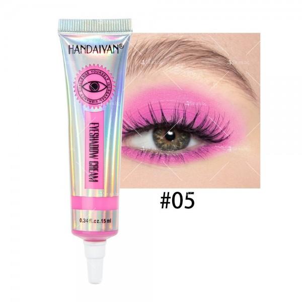 Цветни кремообразни сенки за очи Handaiyan HZS338 5