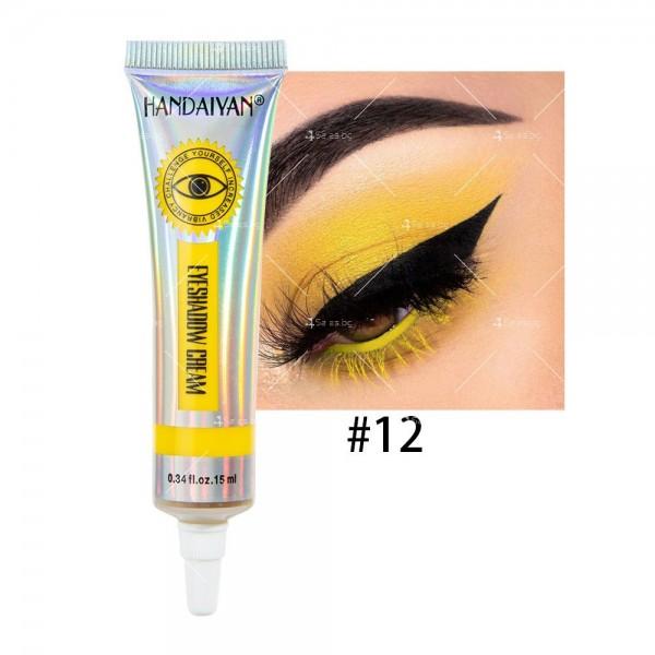 Цветни кремообразни сенки за очи Handaiyan HZS338 12