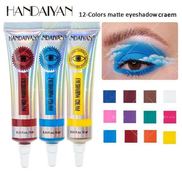 Цветни кремообразни сенки за очи Handaiyan HZS338 13
