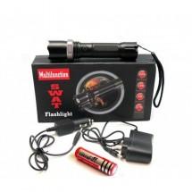 LED фенер с акумулаторна батерия и спусък и две зарядни FL96
