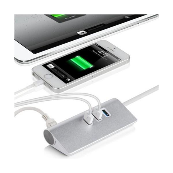 USB PORT HUB, RJ45 устройство 4 в 1,CA48 7