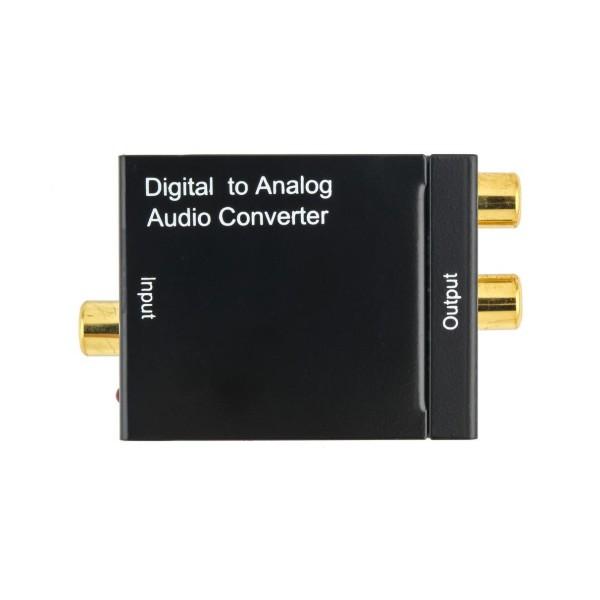 Адаптер за конвертиране на цифров към аналогов аудио сигнал OXA RCA-DT 18225 CA52 2