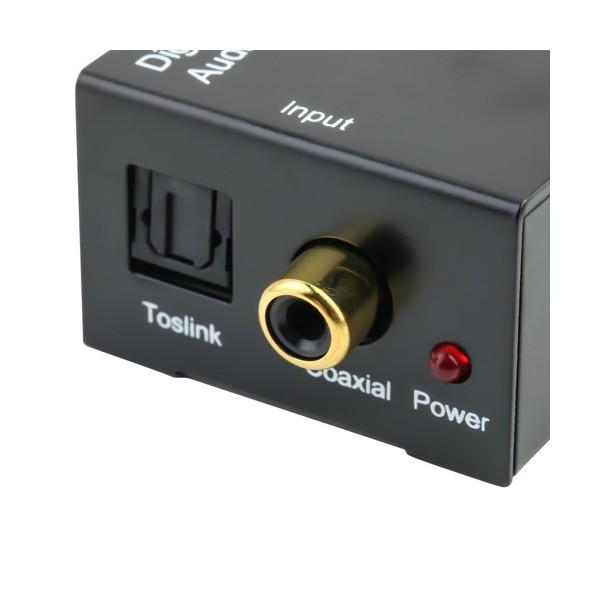 Адаптер за конвертиране на цифров към аналогов аудио сигнал OXA RCA-DT 18225 CA52 5