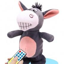 Детска интелигентна плюшена играчка, магаре което ходи и говори WJ35