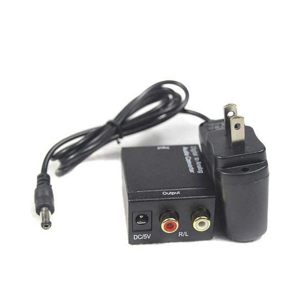 Адаптер за конвертиране на цифров към аналогов аудио сигнал OXA RCA-DT 18225 CA52 8