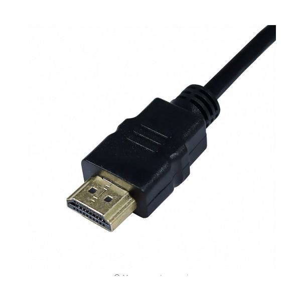 Висококачествен адаптер за конвертиране от HDMI към VGA Audio 3,5, CA83 4