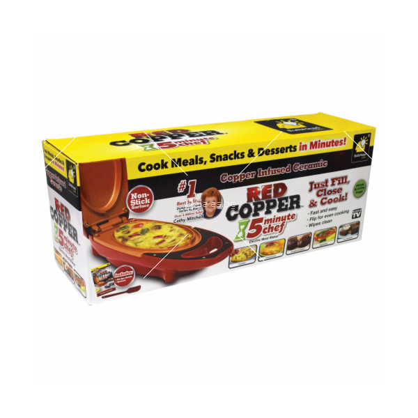 Електрически тиган Red Copper 5 MINUTE CHEF TV960 8