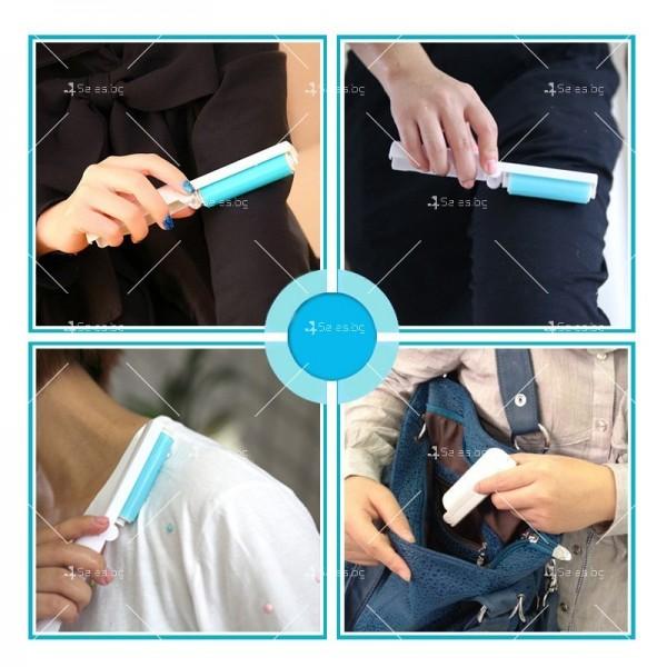 Комплект четки за почистване на дрехи и повърхности от прах и косми TV969 2