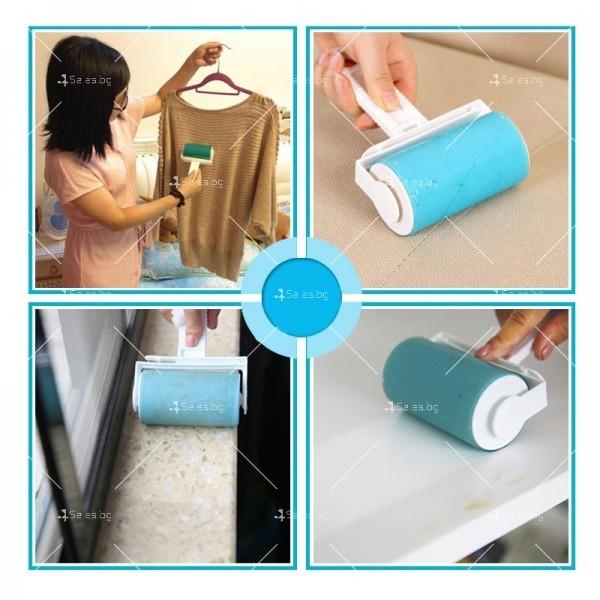 Комплект четки за почистване на дрехи и повърхности от прах и косми TV969 4