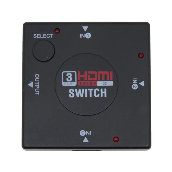 Мини устройство с 4 слота HDMI (за XBOX 360, PS3/4, HD TV BOX Android) CA34