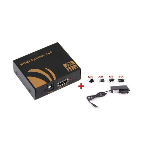 Разделител 3D, HDMI 1 x 2, CA33 3