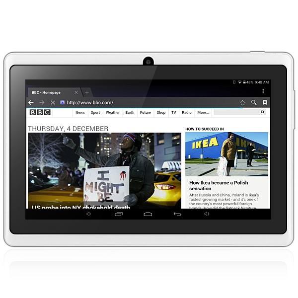 Таблет A88X 7'' Андроид 4.42 БГ меню, две камери и калъф 4