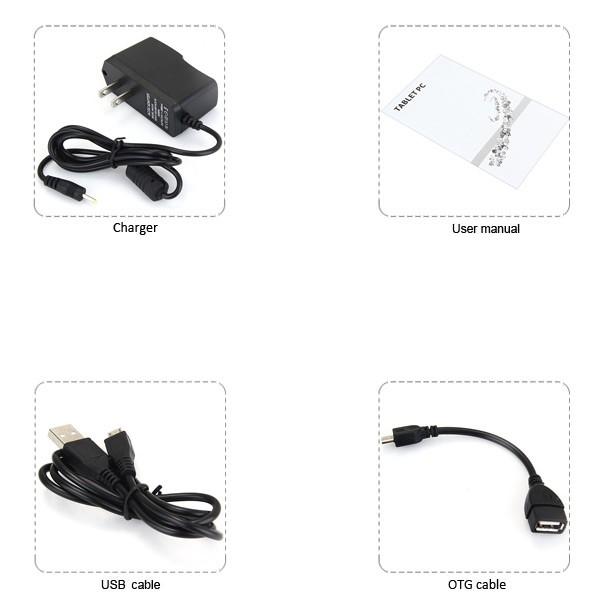 Таблет A88X 7'' Андроид 4.42 БГ меню, две камери и калъф 6