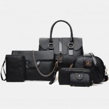 Сет 6 чанти двойна декорация BAG63