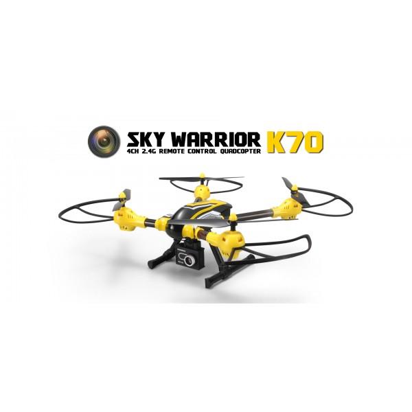 Дрон K70 Sky Warrior: 2016's Best Toy Camera Drone до 300 метра обвхат 1