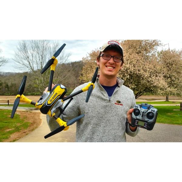 Дрон K70 Sky Warrior: 2016's Best Toy Camera Drone до 300 метра обвхат 9