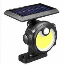 Водоустойчива соларна лампа, 56 COB диода, соларен панел, я H LED 54 COB