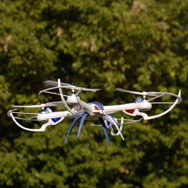 Дрон JJRC H16 Tarantula X6 7.4V 1200 mAh 6 броя 1.5V AA полет до 8 минути 22