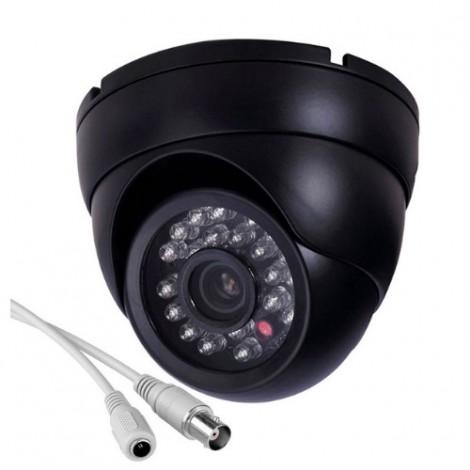 "Аналогова камера за вътрешен монтаж – CCTV 1/4"" CMOS, 800TVL, IR"
