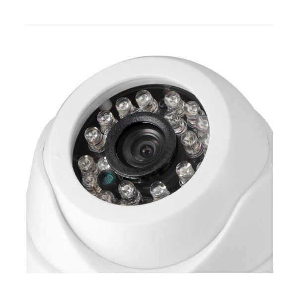 "Аналогова камера за вътрешен монтаж – CCTV 1/4"" CMOS, 800TVL, IR 2"