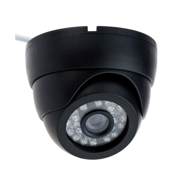 "Аналогова камера за вътрешен монтаж – CCTV 1/4"" CMOS, 800TVL, IR 5"
