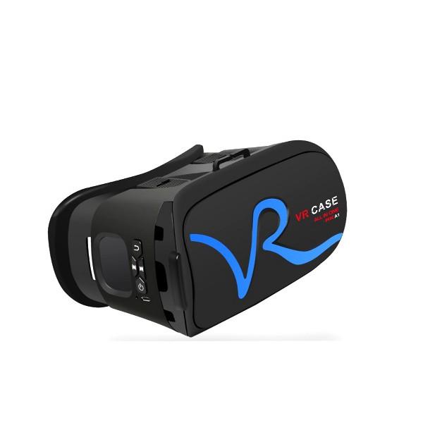 3D Очила за мобилни – VR CASE RK-A1, с бутони за управление и мишка 3