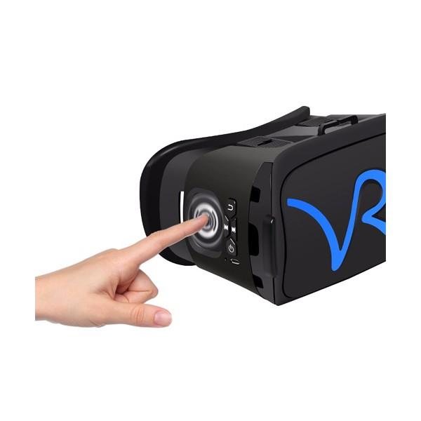 3D Очила за мобилни – VR CASE RK-A1, с бутони за управление и мишка 4