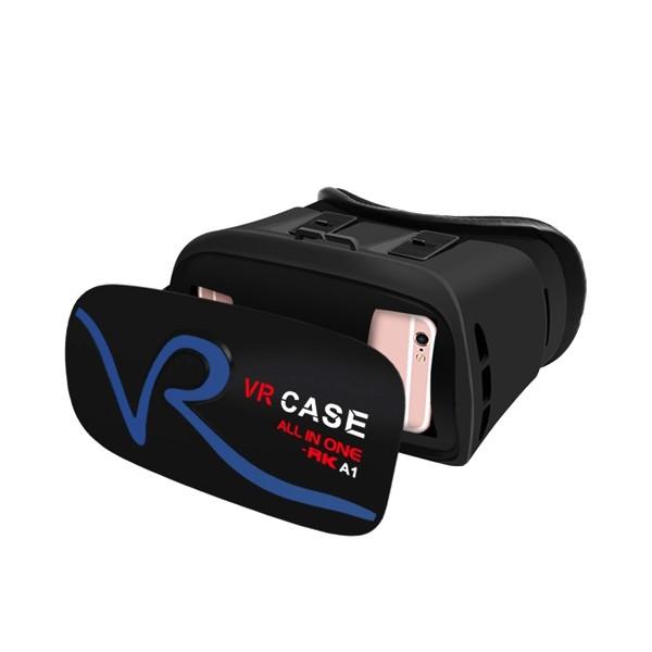 3D Очила за мобилни – VR CASE RK-A1, с бутони за управление и мишка 6