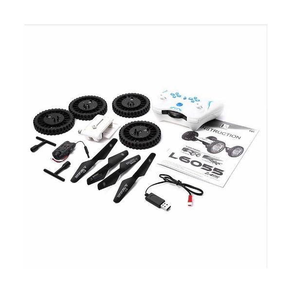 Дрон-кола с динстанционно управление Lishitoys L6055 2.4GB Wi-Fi 2 mpx камера 4CH 6