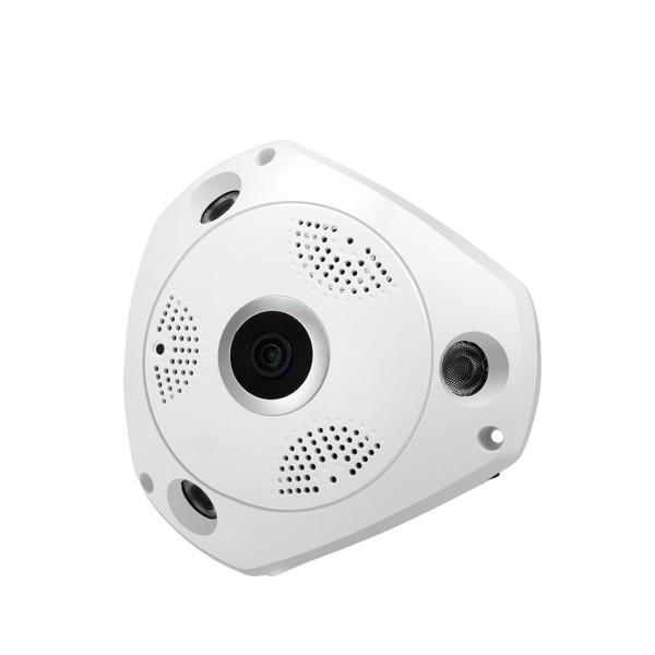 IP 3D камера CCTV с Wi Fi , 360 градуса ъгъл на заснемане и нощно виждане IP6 3