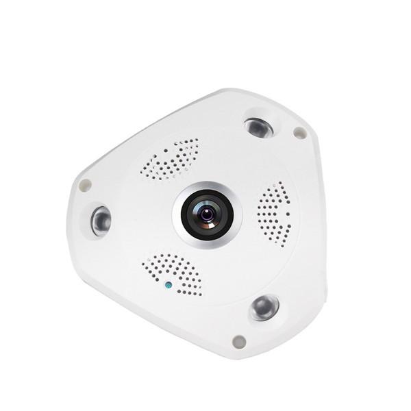 IP 3D камера CCTV с Wi Fi , 360 градуса ъгъл на заснемане и нощно виждане IP6 6