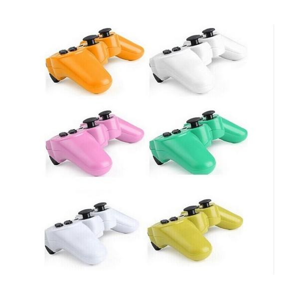 Безжичен джойстик с Bluetooth за Play Station 3 в 11 различни цвята 5
