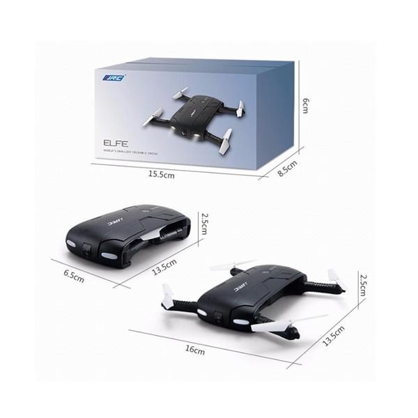 Сгъваем мини квадрекоптер JJRC Н37 с HD камера FPW 2.0mpx, WiFi 6
