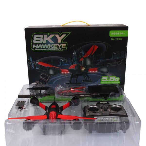 Дрон Sky HawkEye HM1315S с 5.8G FPV монитор за гледане в реално време 20