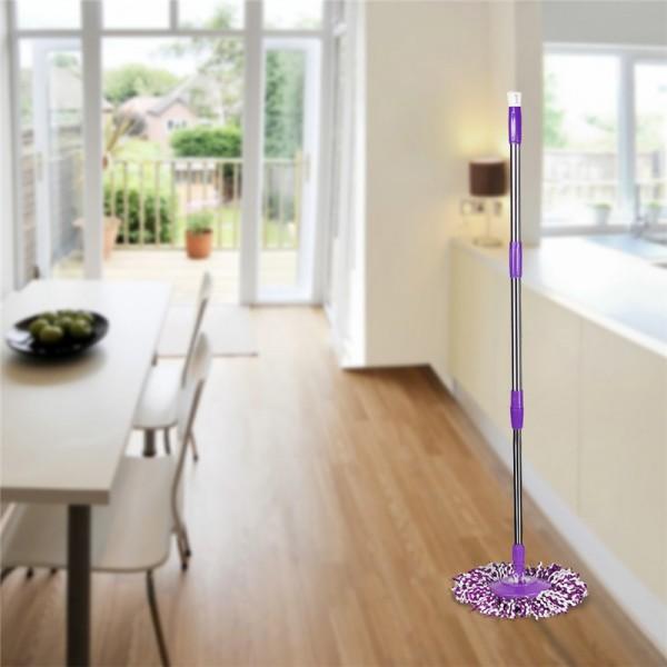 Моп за почистване на под - ламинат - spin mop 360 9