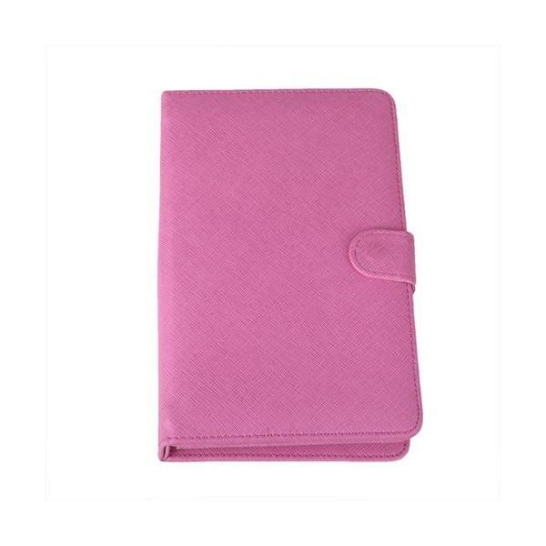 Розова клавиатура калъф за таблет 7 инча универсал 9