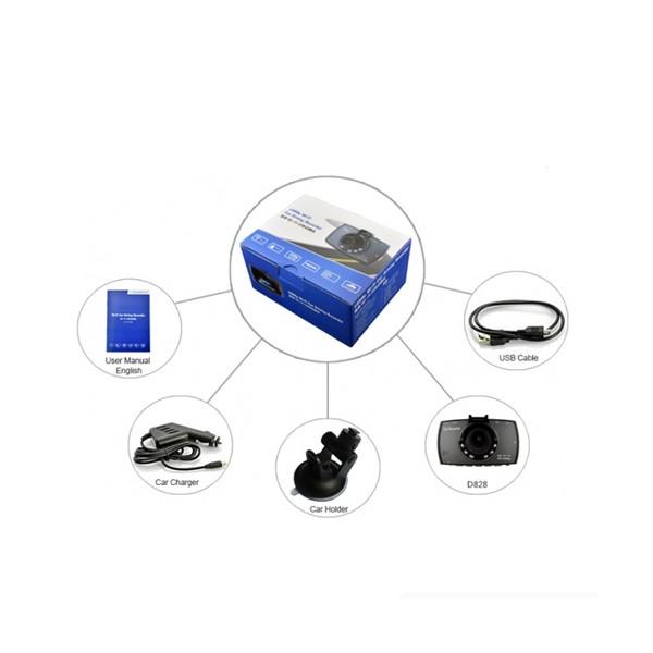 DVR с две камери 5mpx за паркиране и заснемане на заден ход 3.7V 200mAh AC32 8