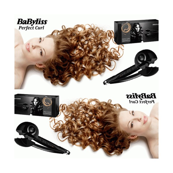Преса за коса BaByliss Pro Perfect Curl - преса за перфектни къдрици TV71 7