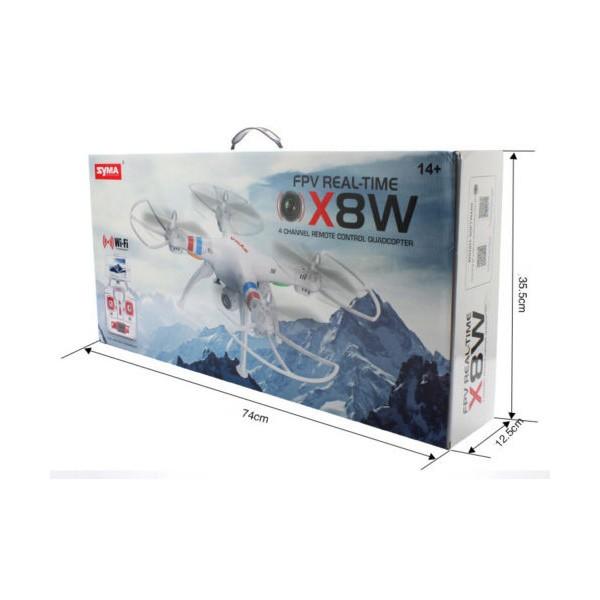 Дрон Syma X8W Explorers с безжична камера и предаване в реално време 11