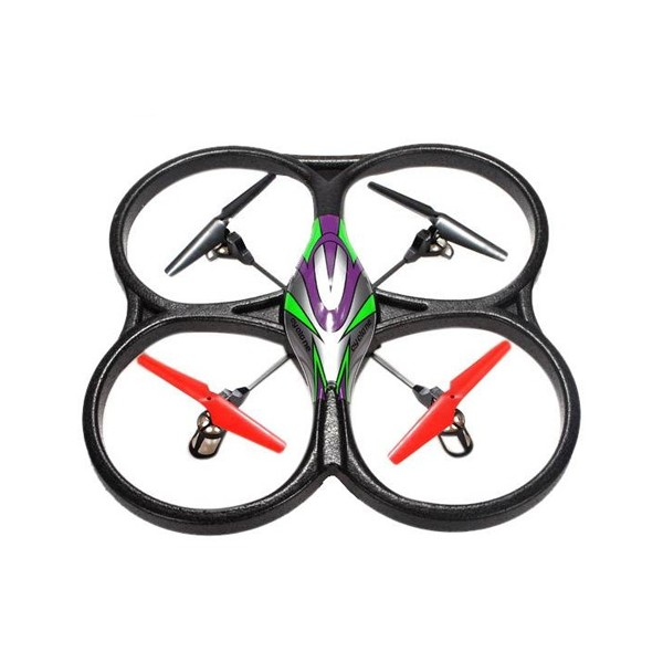 Квадрокоптер RC WL UFO Drone V33 Headless Cyclone Батерия Li-Polymer 4
